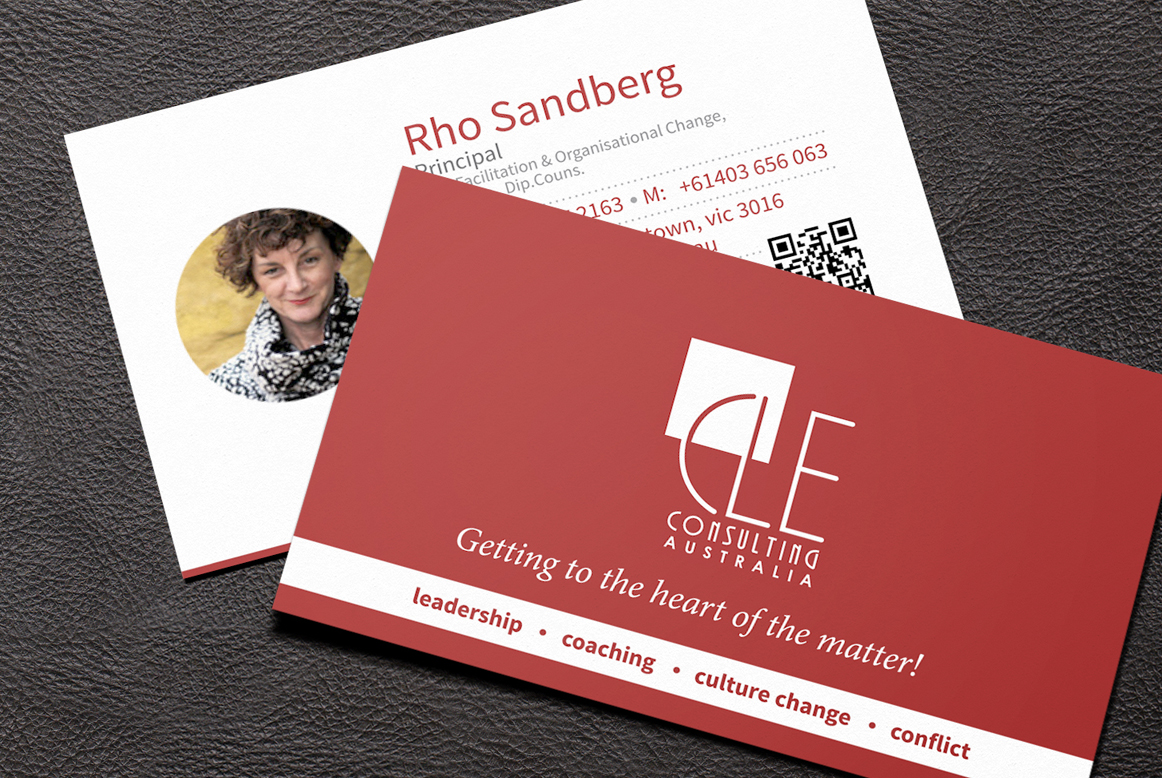 CLE Consulting Business Card Design