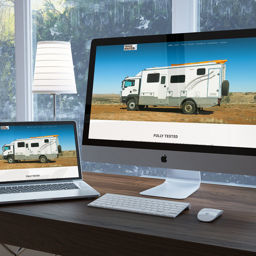 Truck Master Expedition Vehicles Website Design